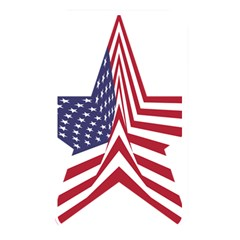 A Star With An American Flag Pattern Memory Card Reader