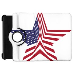 A Star With An American Flag Pattern Kindle Fire Hd 7