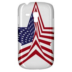 A Star With An American Flag Pattern Galaxy S3 Mini