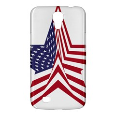 A Star With An American Flag Pattern Samsung Galaxy Mega 6 3  I9200 Hardshell Case