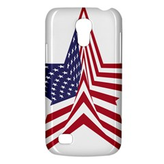 A Star With An American Flag Pattern Galaxy S4 Mini