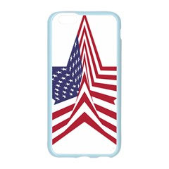 A Star With An American Flag Pattern Apple Seamless iPhone 6/6S Case (Color)