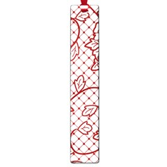 Transparent Decorative Lace With Roses Large Book Marks