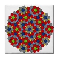 Penrose Tiling Tile Coasters