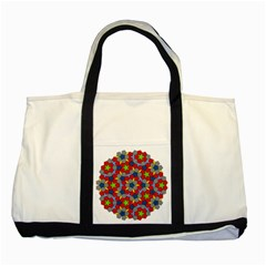 Penrose Tiling Two Tone Tote Bag