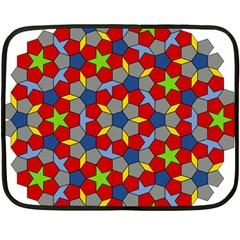 Penrose Tiling Double Sided Fleece Blanket (mini)