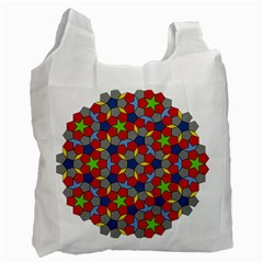 Penrose Tiling Recycle Bag (two Side)