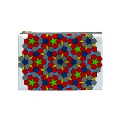 Penrose Tiling Cosmetic Bag (Medium)