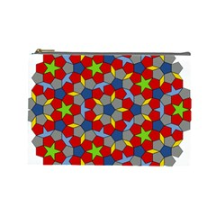 Penrose Tiling Cosmetic Bag (Large)