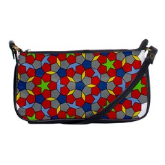 Penrose Tiling Shoulder Clutch Bags
