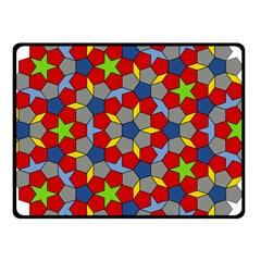 Penrose Tiling Fleece Blanket (small)