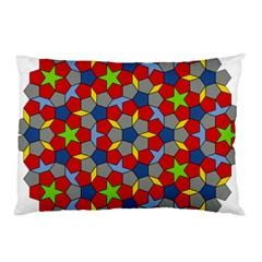 Penrose Tiling Pillow Case (two Sides)
