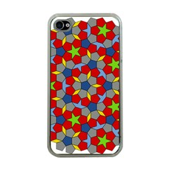 Penrose Tiling Apple iPhone 4 Case (Clear)