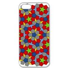 Penrose Tiling Apple Seamless Iphone 5 Case (clear)