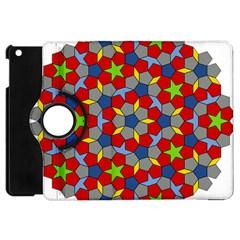 Penrose Tiling Apple Ipad Mini Flip 360 Case