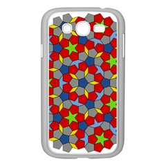 Penrose Tiling Samsung Galaxy Grand Duos I9082 Case (white)