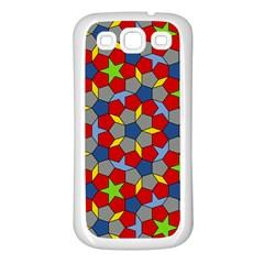Penrose Tiling Samsung Galaxy S3 Back Case (white)