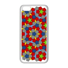 Penrose Tiling Apple Iphone 5c Seamless Case (white)