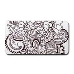 Henna Line Art Clipart Medium Bar Mats