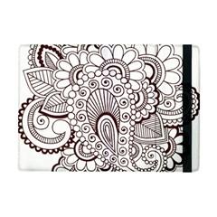Henna Line Art Clipart Apple iPad Mini Flip Case