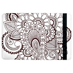 Henna Line Art Clipart Ipad Air 2 Flip