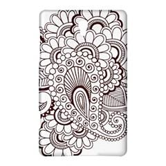 Henna Line Art Clipart Samsung Galaxy Tab S (8 4 ) Hardshell Case