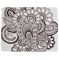 Henna Line Art Clipart Jigsaw Puzzle Photo Stand (Rectangular)