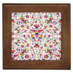 Otomi Vector Patterns On Behance Framed Tiles