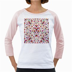 Otomi Vector Patterns On Behance Girly Raglans