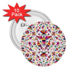 Otomi Vector Patterns On Behance 2.25  Buttons (10 pack)