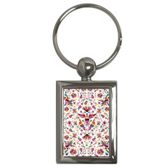 Otomi Vector Patterns On Behance Key Chains (rectangle)