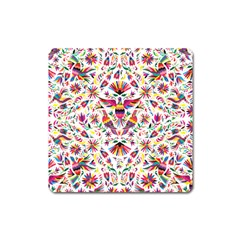 Otomi Vector Patterns On Behance Square Magnet