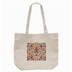 Otomi Vector Patterns On Behance Tote Bag (cream)