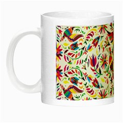 Otomi Vector Patterns On Behance Night Luminous Mugs