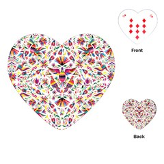Otomi Vector Patterns On Behance Playing Cards (Heart)