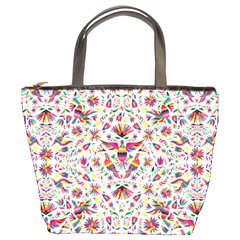 Otomi Vector Patterns On Behance Bucket Bags