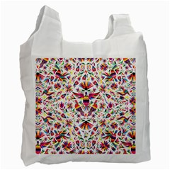 Otomi Vector Patterns On Behance Recycle Bag (two Side)