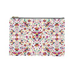 Otomi Vector Patterns On Behance Cosmetic Bag (large)
