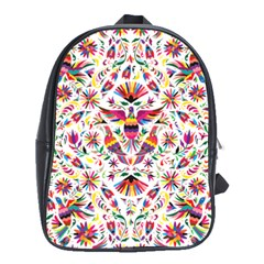 Otomi Vector Patterns On Behance School Bags(large)