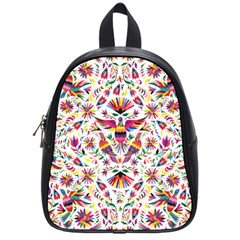 Otomi Vector Patterns On Behance School Bags (small)