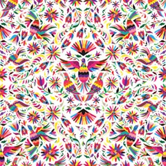 Otomi Vector Patterns On Behance Magic Photo Cubes