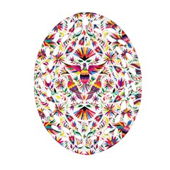 Otomi Vector Patterns On Behance Oval Filigree Ornament (two Sides)