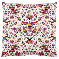 Otomi Vector Patterns On Behance Large Cushion Case (two Sides)