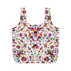 Otomi Vector Patterns On Behance Full Print Recycle Bags (m)