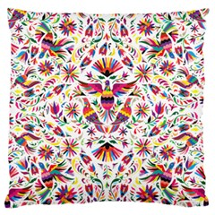 Otomi Vector Patterns On Behance Large Flano Cushion Case (one Side)