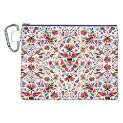 Otomi Vector Patterns On Behance Canvas Cosmetic Bag (xxl)