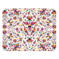 Otomi Vector Patterns On Behance Double Sided Flano Blanket (large)