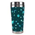 Space pattern Stainless Steel Travel Tumblers Right