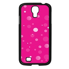 Decorative dots pattern Samsung Galaxy S4 I9500/ I9505 Case (Black)