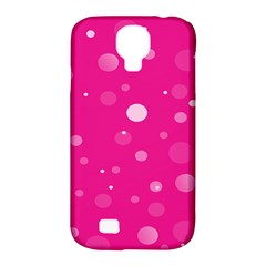 Decorative dots pattern Samsung Galaxy S4 Classic Hardshell Case (PC+Silicone)